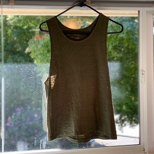 Miles by Madewell Olive Green Tank, Women's Size L